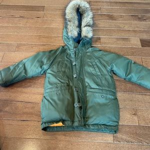 Gap Boys Size 4 Winter Jacket/Coat